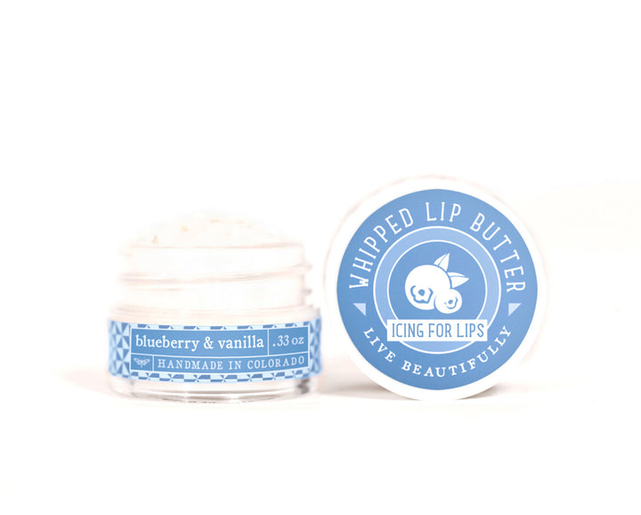 Blueberry Vanilla Whipped Lip Butter