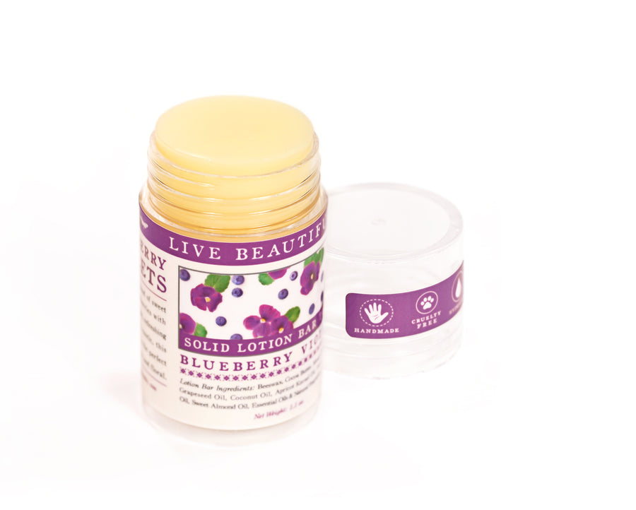 Blueberry Violets Dry Skin Balm