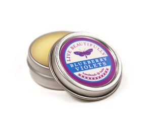 Blueberry Violets Hydrating Dry Lip Balm