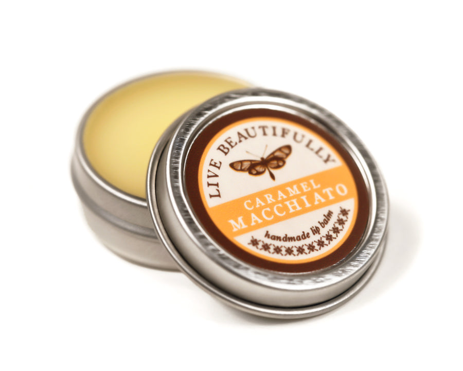 Caramel Coffee Hydrating Dry Lip Balm