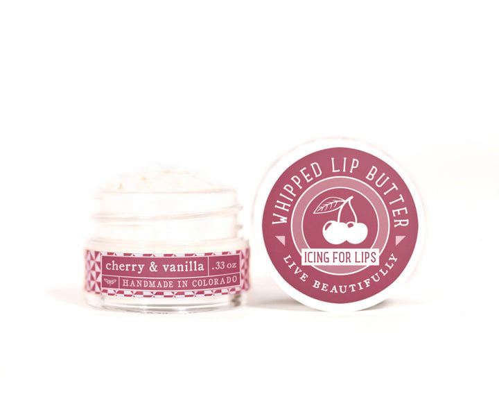 Cherry Vanilla Whipped Lip Butter