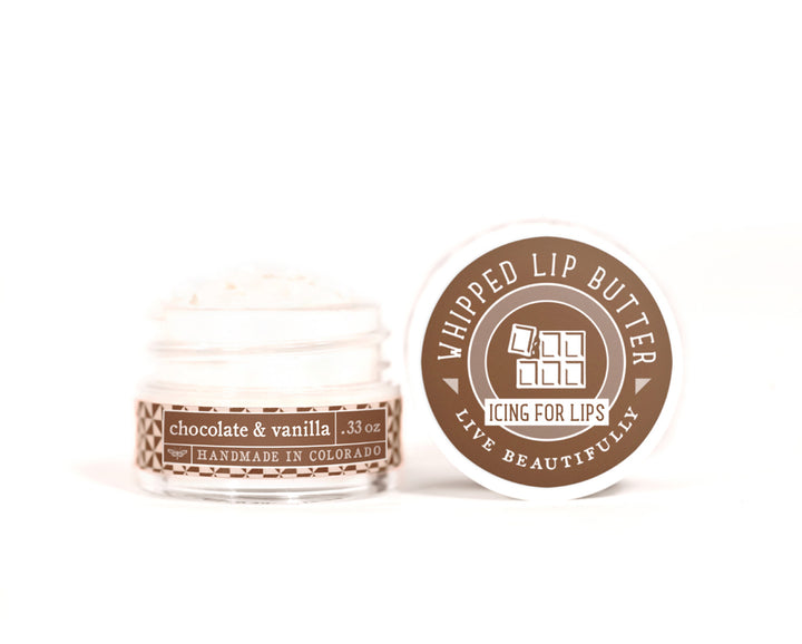 Chocolate Vanilla Whipped Lip Butter