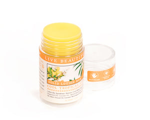 Cool Tropical Orange Lemongrass Dry Skin Balm