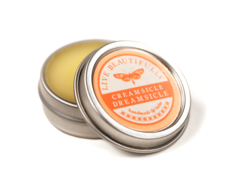 Creamsicle Orange Hydrating Dry Lip Balm