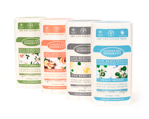 Full Size Deodorant Aluminum Free Live Beautifully