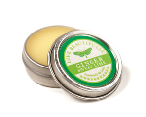 Ginger Sweet Lime Hydrating Dry Lip Balm