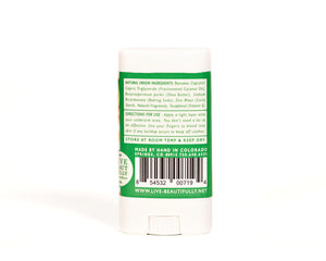 Ginger Sweet Lime Travel Size Deodorant Aluminum Free Natural Origin Ingredients