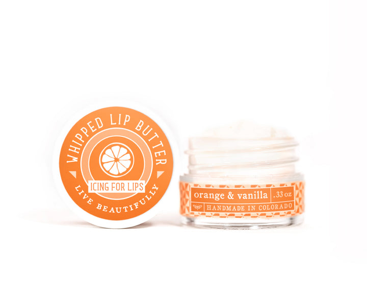 Orange Vanilla Whipped Lip Butter