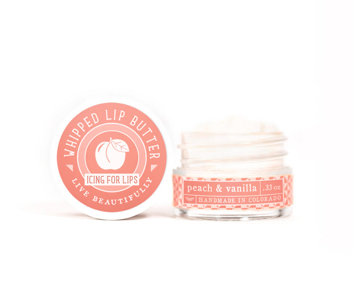 Peach Vanilla Whipped Lip Butter