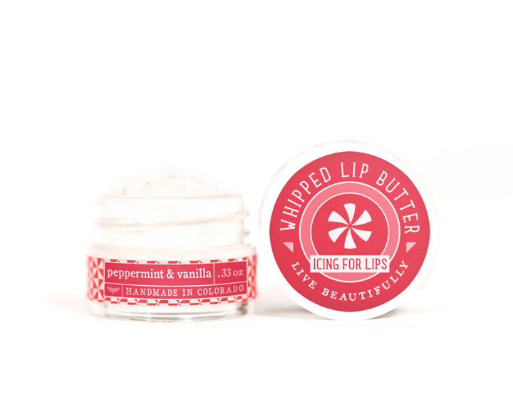 Peppermint Vanilla Whipped Lip Butter