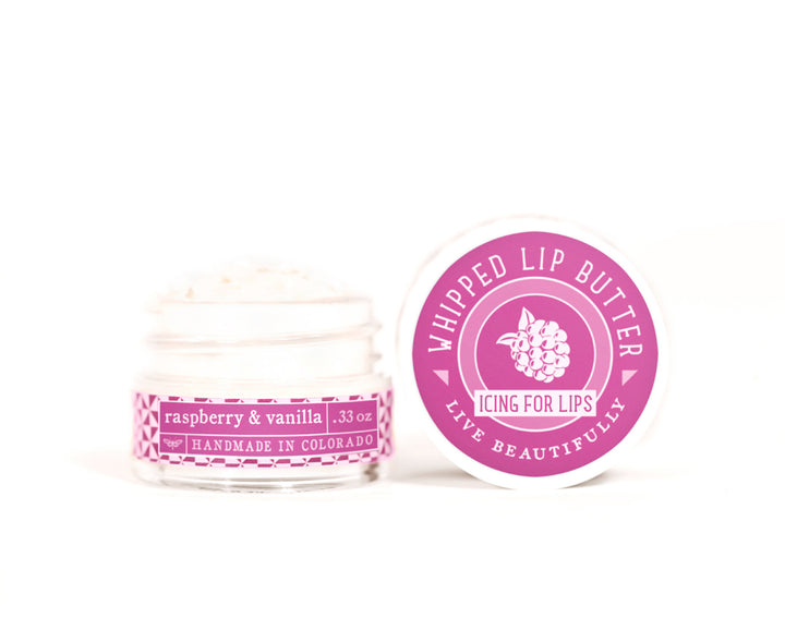 Raspberry Vanilla Whipped Lip Butter