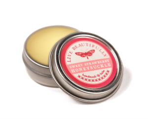Strawberry Honeysuckle Hydrating Dry Lip Balm