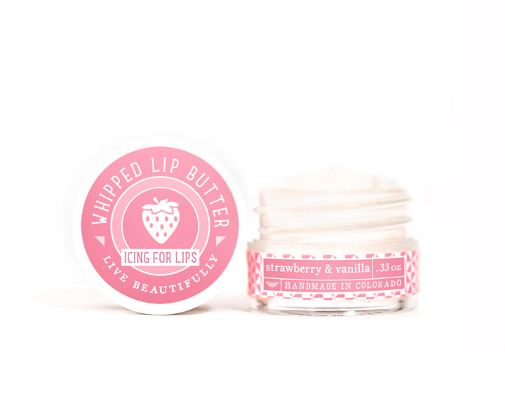Strawberry Vanilla Whipped Lip Butter