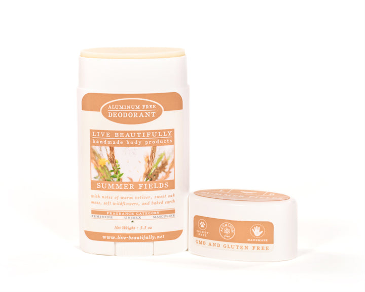 Summer Fields Full Size Deodorant Aluminum Free