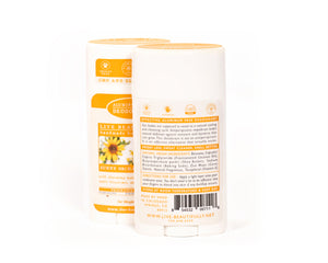Sunny Orchard Blossom Full Size Deodorant Aluminum Free Ingredients