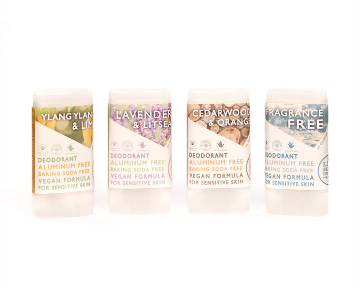 Travel Size Natural Origin Deodorant Vegan Aluminum Free Sensitive Skin Group