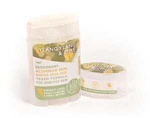 Ylang Ylang And Lime Natural Origin Deodorant Vegan Aluminum Free Sensitive Skin Open