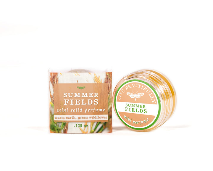 summer fields mini solid perfume cologne
