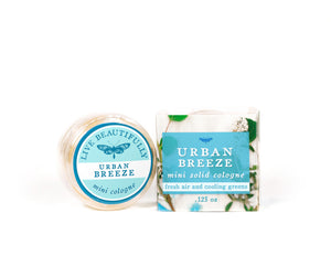 urban breeze mini solid perfume cologne