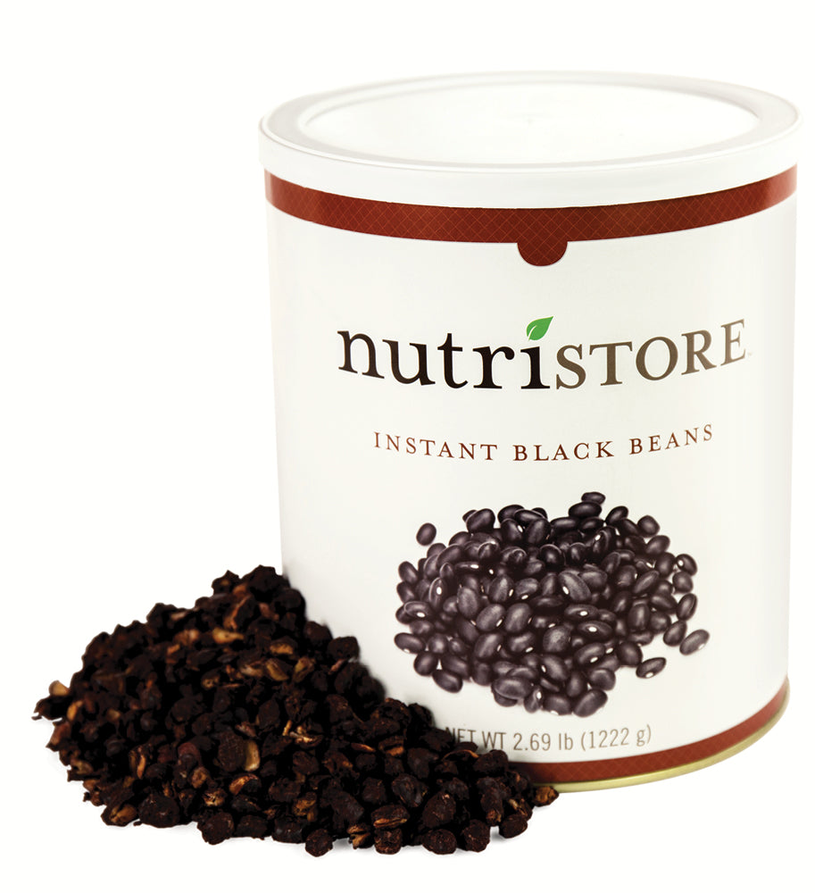 Instant Black Beans - #10 Can