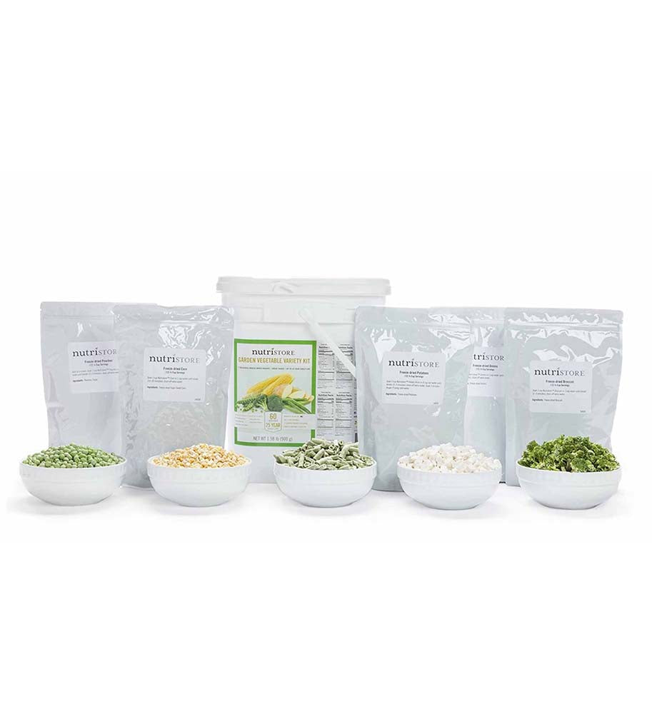 Freeze Dried Vegetable Variety Bucket