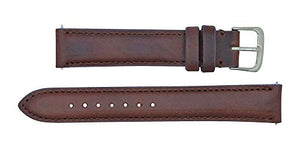Padded Watch Strap in Horween Chromexel Leather