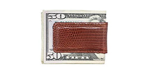Magnetic Money Clip in Lizard