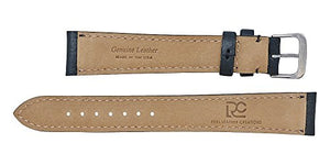 Padded Watch Strap in Montana Leather