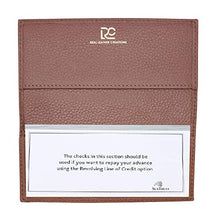 Load image into Gallery viewer, Checkbook Cover in Colorado Pebble Grain Leather