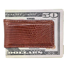 Load image into Gallery viewer, Magnetic Money Clip in Lizard