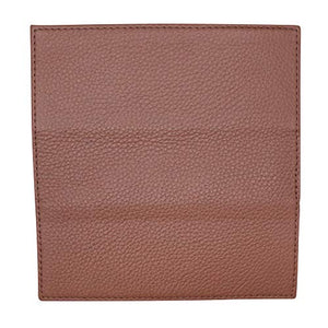 Checkbook Cover in Colorado Pebble Grain Leather