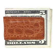 Load image into Gallery viewer, Magnetic Money Clip in Matte Crocodile
