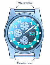 Load image into Gallery viewer, Padded Watch Strap in Glazed Alligator