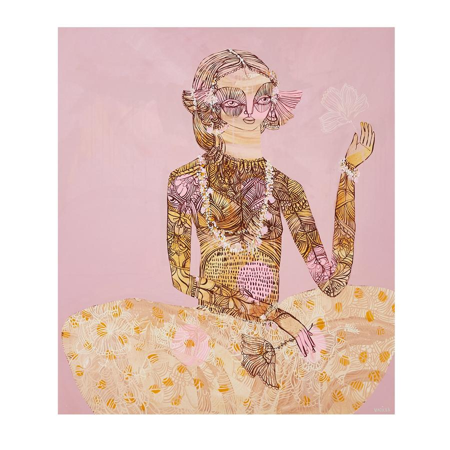 Jai Vasicek - Henna and The Marigolds Limited Edition Print