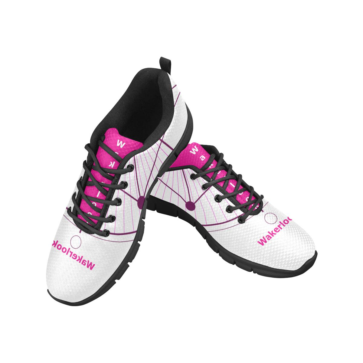 Pink Wakerlook Women's Breathable Sneakers