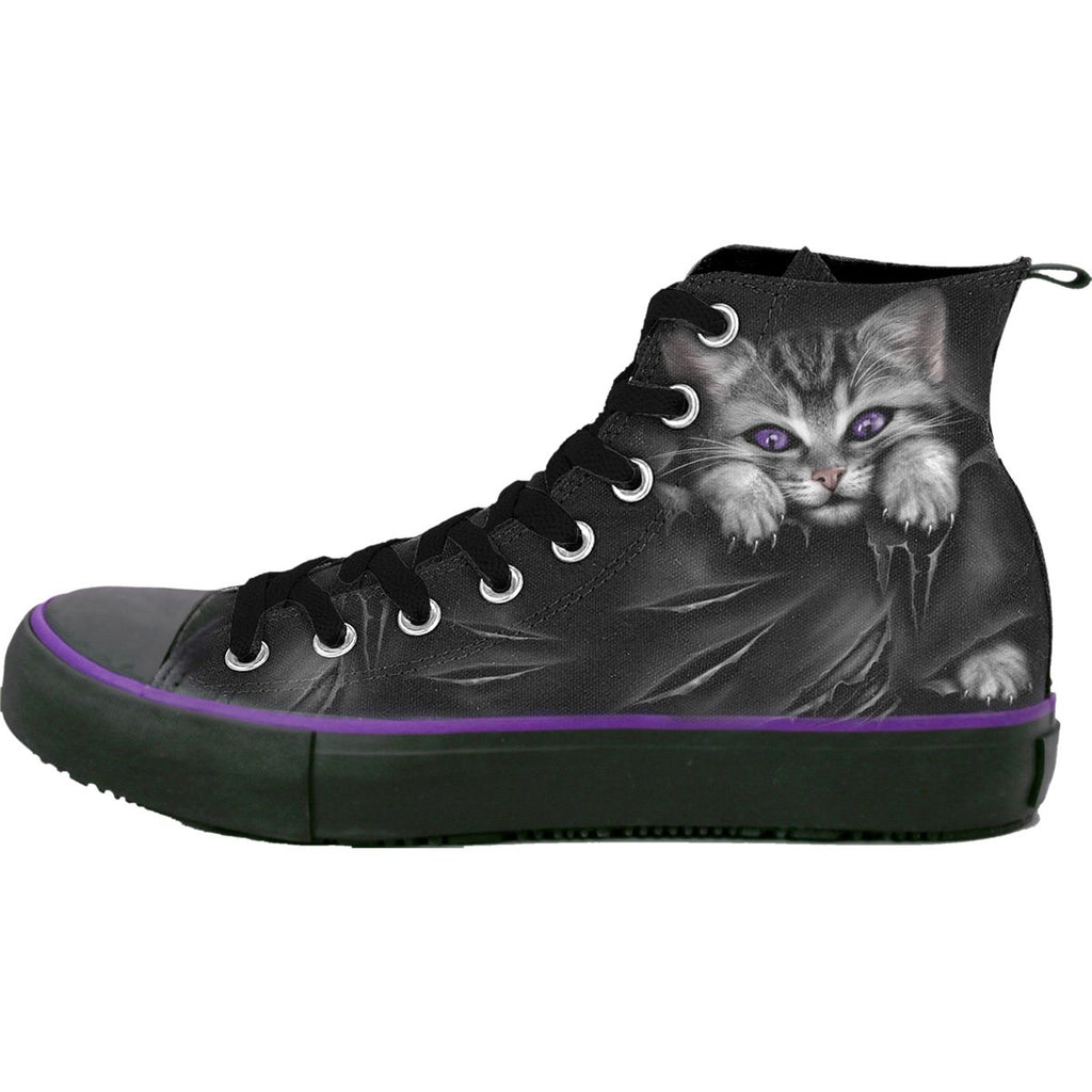 BRIGHT EYES - Sneakers - Ladies High Top Laceup