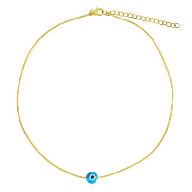 Light Blue Sicily Choker
