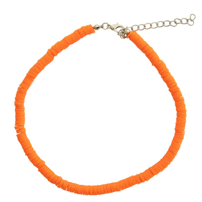 Orange  Bead Necklace