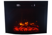 "26"" Fireplace LED Electric Curved Front with Remote - IN STOCK - SAME DAY SHIPPING"