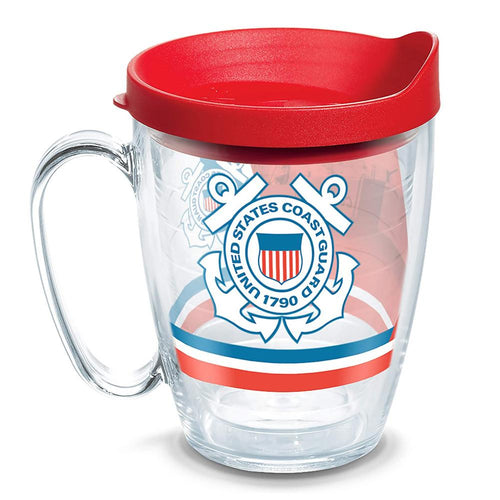 Coast Guard Forever Proud 16oz Tervis Mug