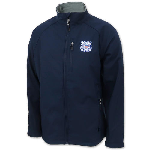 Coast Guard Soft Shell Jacket (Navy)