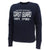 Coast Guard Champion Ladies Distressed Crewneck (Navy)
