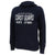Coast Guard Champion Ladies Distressed Hood (Navy)