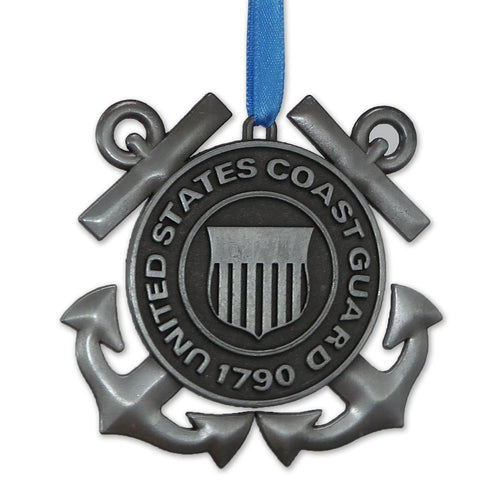 Coast Guard Seal Metal Ornament