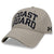 Coast Guard Under Armour Garment Washed Cotton Adjustable Hat (Stone)