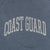 Coast Guard Ladies Michaela Angel Fleece Crewneck (Stonewash)