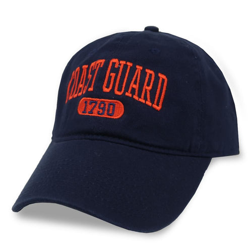 COAST GUARD 1790 LOW PROFILE HAT (NAVY) 1