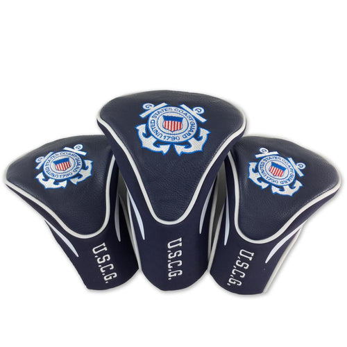 COAST GUARD 3PK HEADCOVERS 4