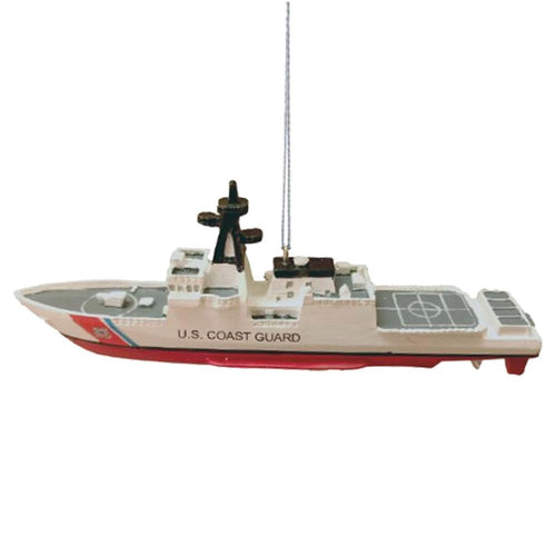 COAST GUARD AIR CRAFT CARRIER SHIP ORNAMENT 2