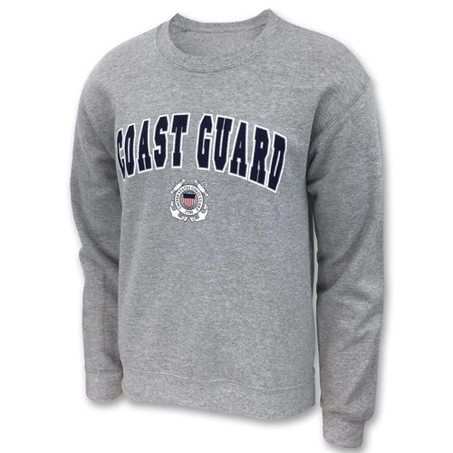 COAST GUARD ARCH SEAL CREWNECK 3